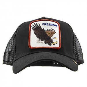Goorin Bros cappello visiera trucker freedom patch aquila