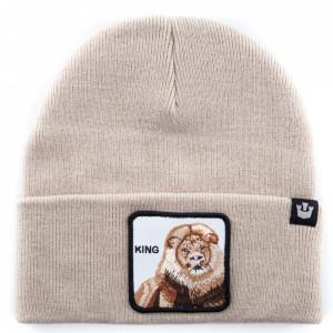 Goorin cappello in lana leone beige