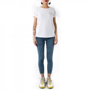 Happiness t-shirt donna matriciana