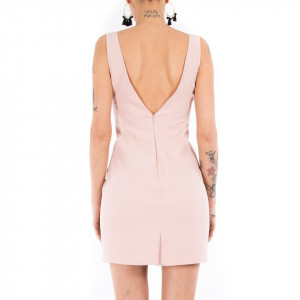 Jijil abito tubino corto elegante rosa