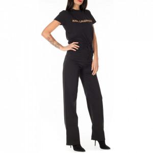 Jijil black large trousers