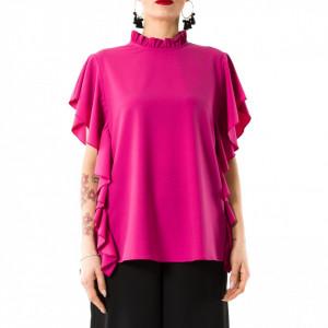 Jijil camicia blusa rossa