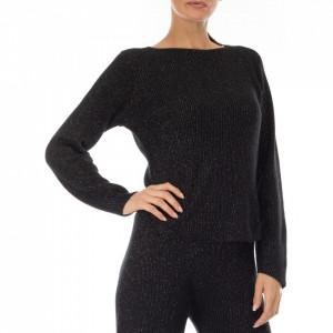 Jijil maglia nera in lurex