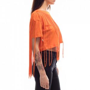 jijil-t-shirt-frange-arancione