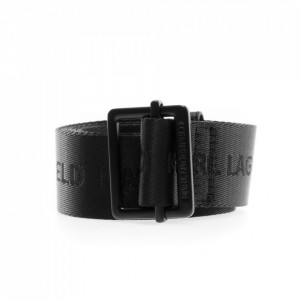 Karl Lagerfeld cintura tessuto nera