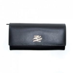 Karl Lagerfeld wallet autograph