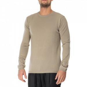 Minimum maglione beige girocollo uomo