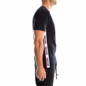 Moschino t-shirt nera uomo