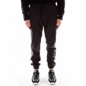 Outfit pantalaccio nero uomo invernale