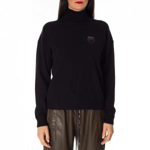 Pinko black cashmere turtleneck