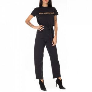 Pinko black high-waisted jeans