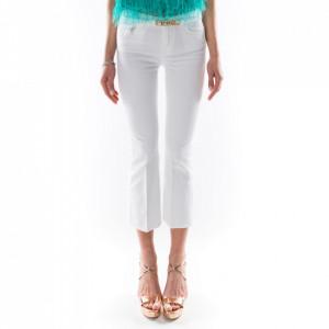 Pinko jeans bianco a zampa