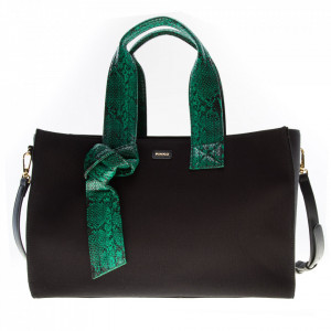 Pinko shopping bag nera media