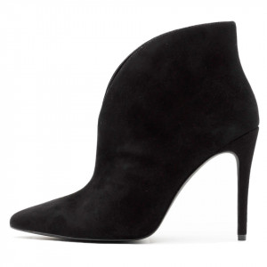 Steve Madden Alani black ankle boots with heel