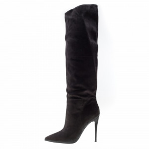 Steve Madden black boots with heel
