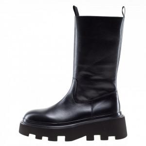 Strategia platform biker boots