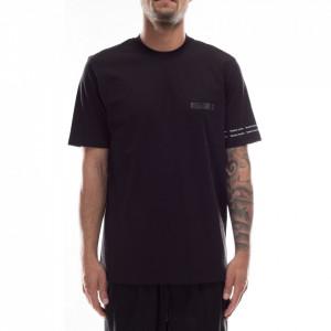 Studio Homme t-shirt uomo nera basic