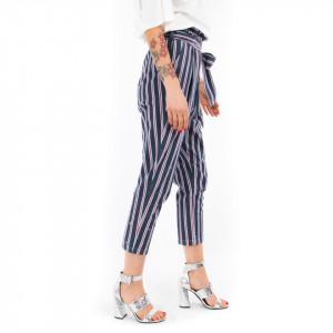 Ynot pantalone vita alta a righe