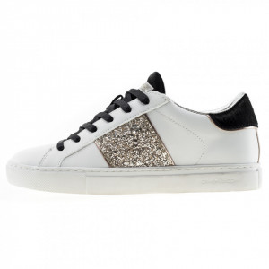 Crime London sneakers low top essential glitter