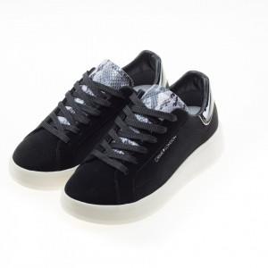 Crime London sneakers platform nere level up