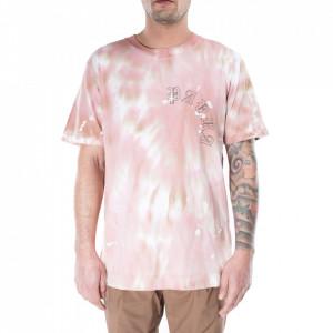 Danilo Paura tshirt rosa tie-dye