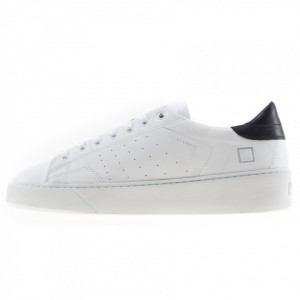 Date sneakers uomo bassa bianca levante