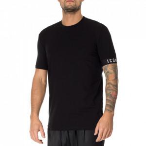 Dsquared2 tshirt icon nera