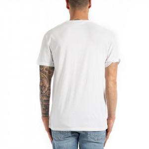 Eleven Paris t shirt bianca con scritta