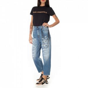 Gaelle ripped boyfriend jeans