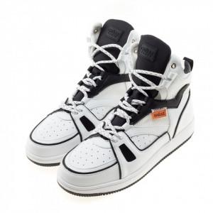 Gaelle-sneakers-basket-uomo-bianche-invernali