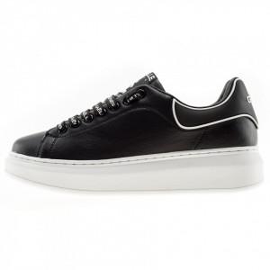 Gaelle sneakers para alta nere