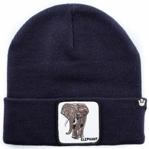 Goorin cappello in lana blu elefante
