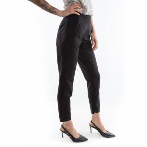 pantaloni neri classici donna