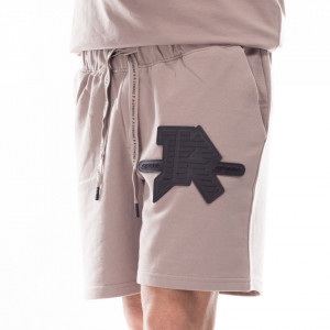 John Richmond gray sweatshirt bermuda shorts