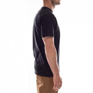 John Richmond t-shirt nera logo rosso