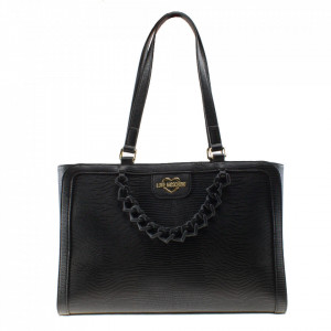 Love Moschino borsa shopper con zip