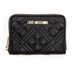 Love Moschino portafoglio piccolo nero trapuntato