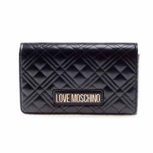 Moschino Love borsa clutch nera