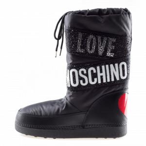 Moschino Love stivali per la neve neri