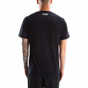 Moschino t-shirt nera uomo logo