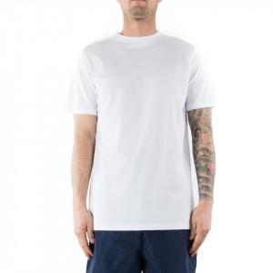 Numero 00 t-shirt con numero uomo bianca