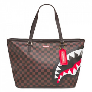 Sprayground borsa shopper Split marrone