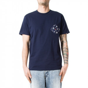 Commune de Paris t shirt uomo blu