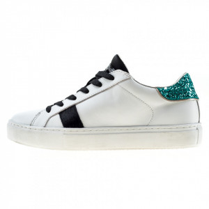 Crime London sneakers low top essential bianche