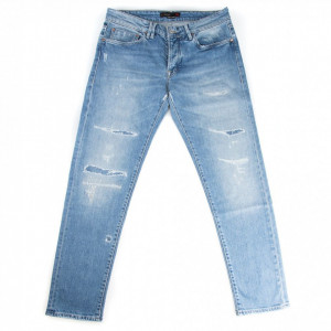 Cycle man ripped jeans
