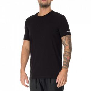 Dsquared2 tshirt nera logata