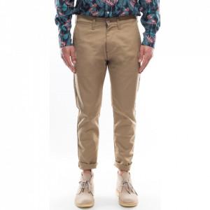 Edwin beige chino pants for men