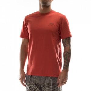 Edwin tshirt arancio logo japan