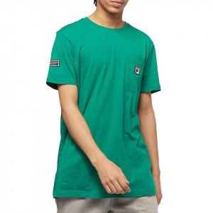 Fila green t-shirt with pocket