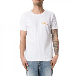 Happiness t shirt uomo matriciana